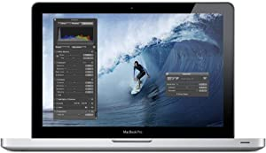 Apple MacBook Pro MD313LL/A 13.3-Inch Laptop, Intel Core i5 2.4GH, 4GB RAM, 500GB HDD (Renewed)