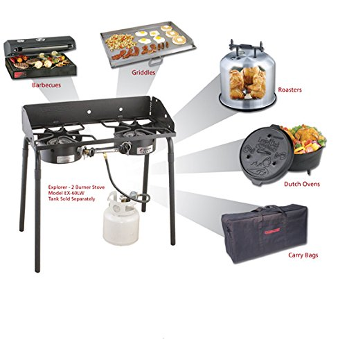 033246207605 - Camp Chef EX60LW Explorer 2 Burner Outdoor Camping Modular Cooking Stove carousel main 1