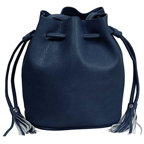 Navy Blue Bag Tag - 3