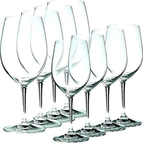 Riedel Glass White Wine Glass - Riedel Vinum 8 Piece Chablis and Bordeaux Wine Glass Set, Buy 6 Get 8
