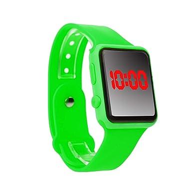 ceebb9fdaf71 Reloj de Pulsera para Unisex Reloj Deportivo Unisex Digital con Banda de  Silicona Relojes de Pulsera Hombres Moda Infantil Absolute  Amazon.es  Ropa  y ...
