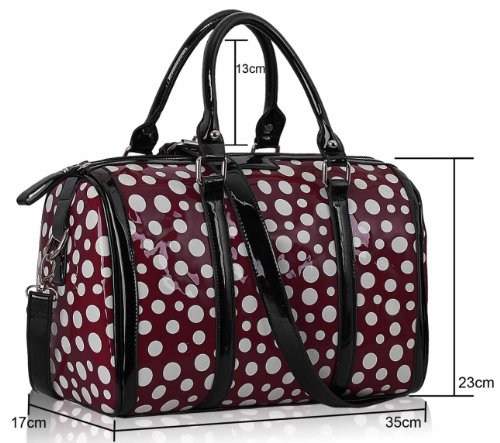 ANNA GRACE - Bolso de hombro Mujer Design 3 - Purple
