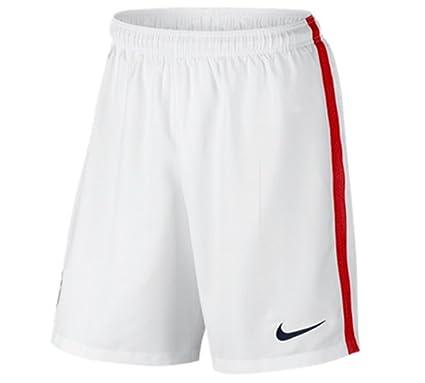 5f325c503 Amazon.com : Nike 2016-2017 USA Home Shorts (White) : Sports & Outdoors
