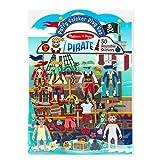 Melissa & Doug Puffy Sticker Play Set - Pirate (Pack Of 48)