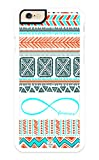 iZERCASE iPhone 6 PLUS, iPhone 6S PLUS Case Forever Infinity on Aztec Pattern RUBBER CASE - Fits iPhone 6 PLUS, iPhone 6S PLUS T-Mobile, Verizon, AT&T, Sprint and International