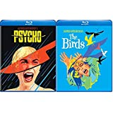 Psycho 1960 W/Collectible Pop Art Series & The Birds - Alfred Hitchcock's 2-Movie Pack