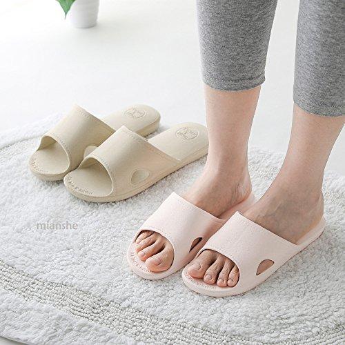 Pool On Sandals Shower Slip Soft Slippers Sole Mianshe Shoes Bathroom Unisex Sunmmer Lightblue Foams qnXvw0SY