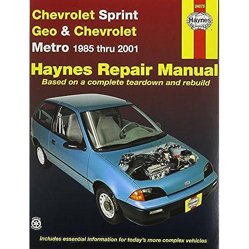 geo metro amazon com rh amazon com Saab 99 Haynes Manuals Haynes Manual Monte Carlo Back