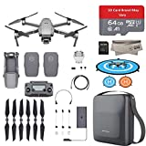 2018 DJI Mavic 2 Pro Drone Quadcopter with 2 Batteries, Hasselblad Camera HDR Video, 64GB Micro SD, Carrying Case, Landing Pad with Must Have Accessories Bundle Review