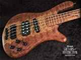 Warwick Custom Shop Streamer Jazzman Bass Guitar Natural Oil (SN:16244117)