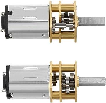 DC 1.5-12v 6v 60RPM Micro 16MM Gear Motor Mini Speed Reduction 11T Robot Car DIY