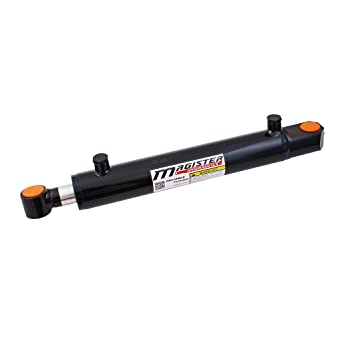 """Hydraulic Cylinder Tie Rod Double Action 2.5/"""" Bore 4/"""" Stroke 2500 PSI 2.5x4 NEW"""
