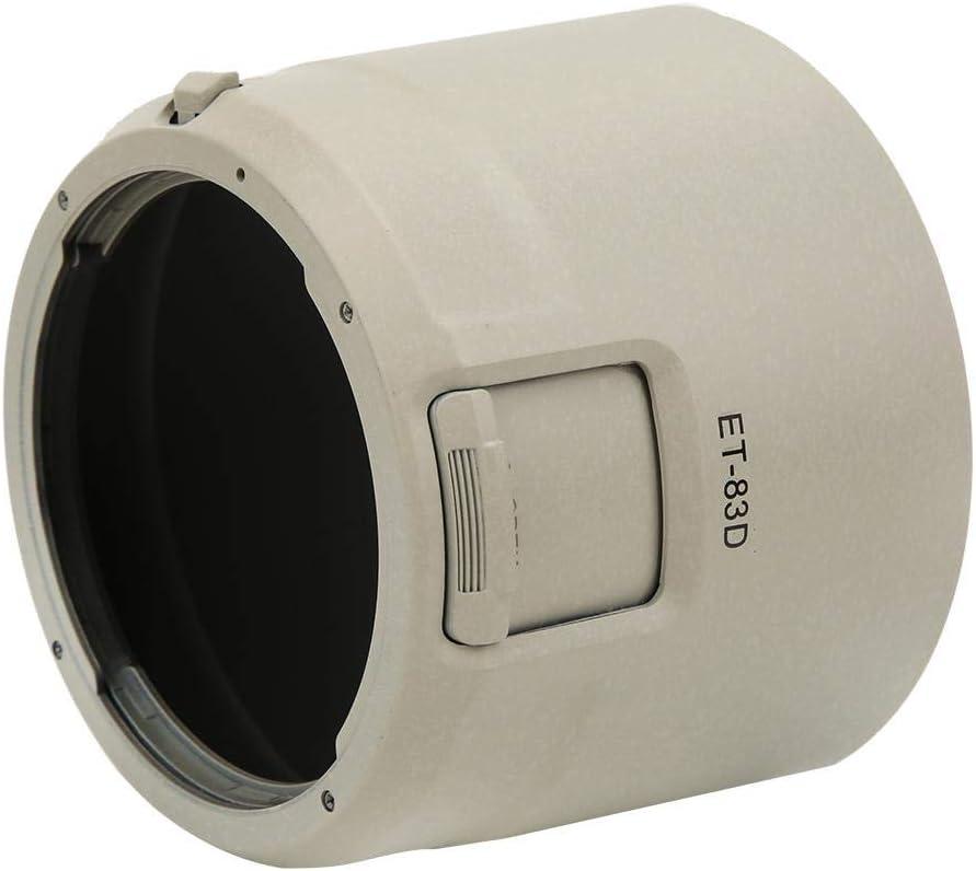 Pomya Camera Lens Hood for Canon,ET-83D Plastic Lens Hood Replacement for Canon EF 100-400mm f//4.5-5.6L is II USM,Lens Hood