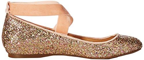 Jessica Simpson Mujeres Mandayss Ballet Flat Champagne Multi