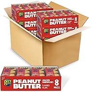 RITZ Peanut Butter Sandwich Crackers, 8 - 1.38 oz Packs (6 Boxes)