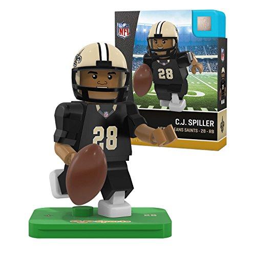 4af041fd OYO NFL New Orleans Saints Gen4 Limited Edition Mark Ingram Mini Figure,  Small, White