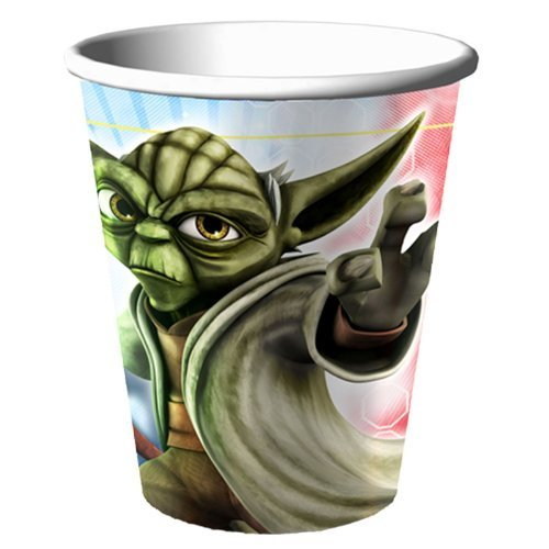Star Wars Clone Wars 'Opposing Forces' Paper Cups (8ct)]()