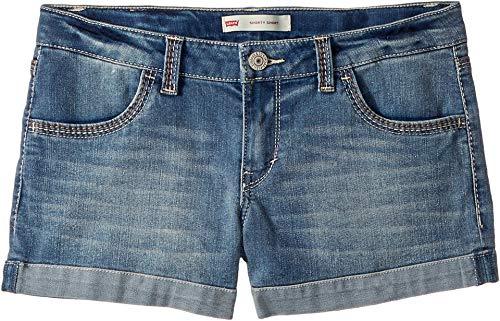 Levi's Girls' Denim Shorty Shorts -