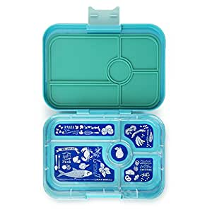 YUMBOX TAPAS Larger Size (Antibes Blue) Leakproof Bento lunch box for Adults, Teens & Pre-teens