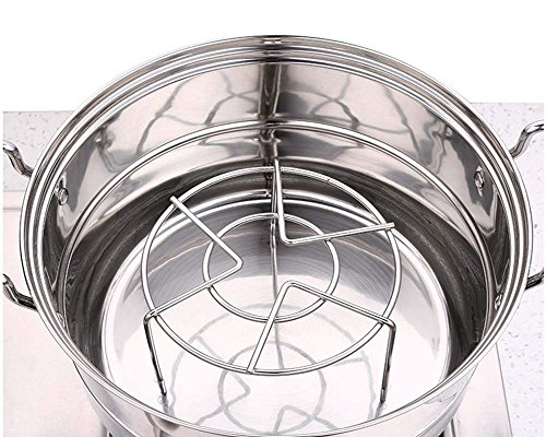 3 7/8'' & 2 1/4'' Tall Steam Rack Stand, HULISEN Heavy Duty Stainless Steel Multifunction Basket, Pressure Cooker Rack (Tall Trivet) by HULISEN (Image #6)