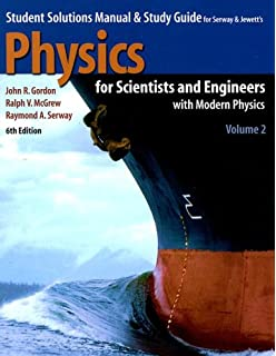 Amazon physics for scientists and engineers with physicsnow physics for scientists and engineers student solutions manual study guide volume 2 fandeluxe Gallery
