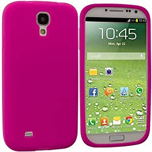 Accessory Planet(TM) Hot Pink Silicone Soft Gel Rubber Skin Case Cover Accessory for Samsung Galaxy S4 by lolosakes
