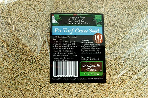 ProTurf Grass Seed by Eretz - Willamette Valley, Oregon Grown (10lbs)