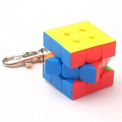 Rubic Cube - Llavero de cadena con forma de cubo de juguete ...