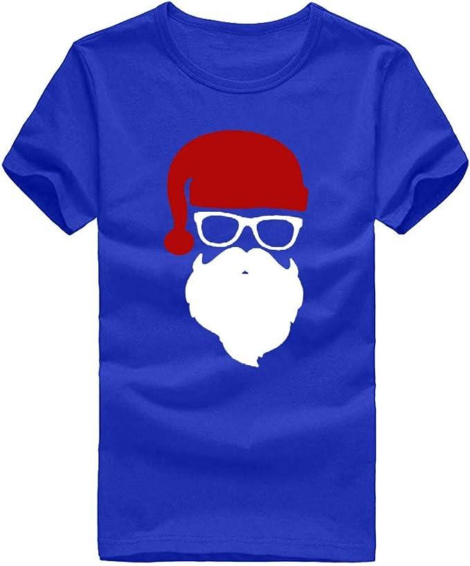 K-Youth Camiseta Hombre Navidad Ropa Adolescente Chico ...