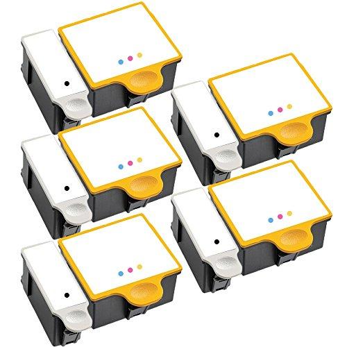 5 Set of 2 Inkfirst® Ink Cartridges 10XL, 10C Compatible Remanufactured for  Kodak 10XL Black, Kodak 10C Tri-color EasyShare 5100 5300 5500 ESP Office
