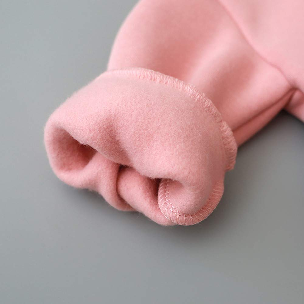 Wang-RX Winter Kleinkind Baby Kinder Jungen M/ädchen Kapuzen Cartoon 3D Ohr Langarm Hoodie Sweatshirt Tops Kleidung