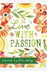 Live with Passion Katie Daisy Boxed Notecards by Katie Daisy (June 30, 2013) Hardcover Hardcover