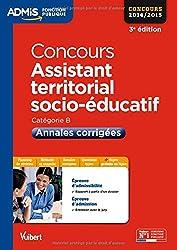 Concours Assistant territorial socio-éducatif - Annales corrigées - Catégorie B - Concours 2014-2015