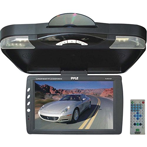 14.1 Dvd - PYLE PLRD143F 14.1 Ceiling-Mount Monitor with DVD Player Car Accessories