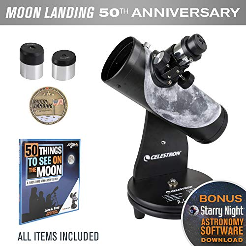 Best Prices! Celestron Firstscope Signature Series R.Reeves Limited Edition Apollo 11 50Th Anniversa...
