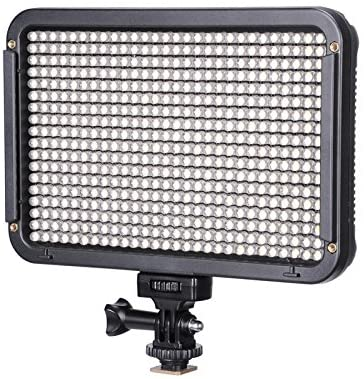 TOLIFO LED PT-504 Dimmable Ultra High Power Panel Digital Camera/Camcorder Video Light, LED Light for Cameras with Hotshoe