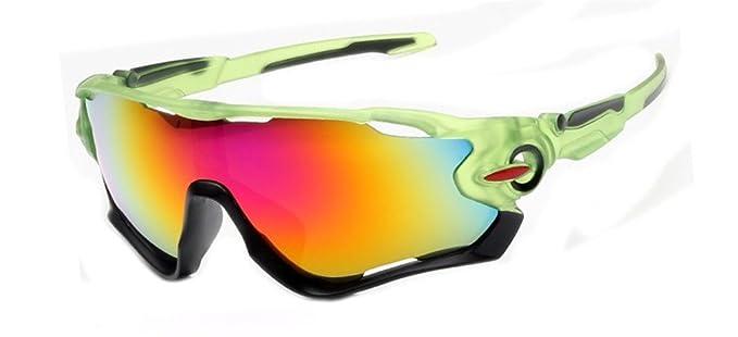 Marco polarizadas ciclismo gafas de sol para hombres mujeres deportes para deportes al aire libre,