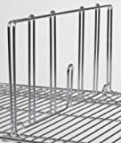 "18"" Wire Shelving Divider"