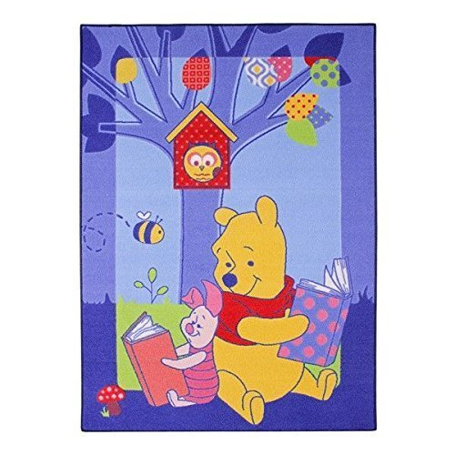 Winnie The Carpet Pooh (Associated Weavers Winnie 86 Story Children's Rug with Winnie the Pooh Motif 95 x 133 cm by Disney)