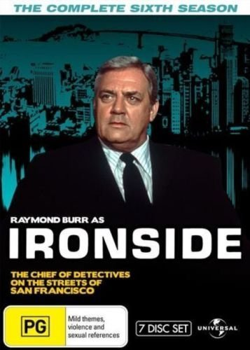Ironside (Complete Season 6) - 7-DVD Set ( Ironside - Season Six (The Raymond Burr Show) ) [ NON-USA FORMAT, PAL, Reg.0 Import - Australia ]