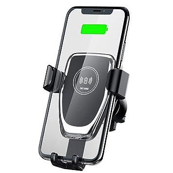 10W Qi Cargador de Coche inalámbrico Soporte para teléfono ...