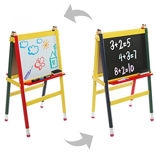 Childrens Chalkboard Whiteboard Frame Activity