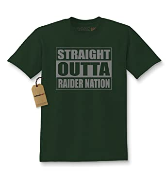 22343270 Amazon.com: Expression Tees Straight Outta Raider Nation Kids T ...