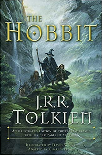 Amazon Fr The Hobbit Graphic Novel An Illustrated