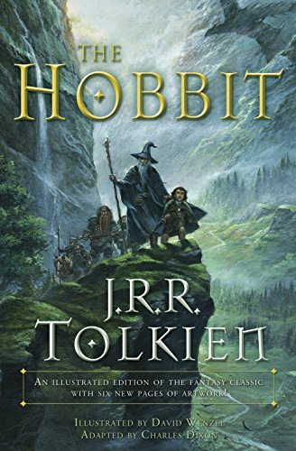 The Hobbit (Graphic Novel) with a subtitle of An illustrated edition of the fantasy classic (Best New Erotic Novels)