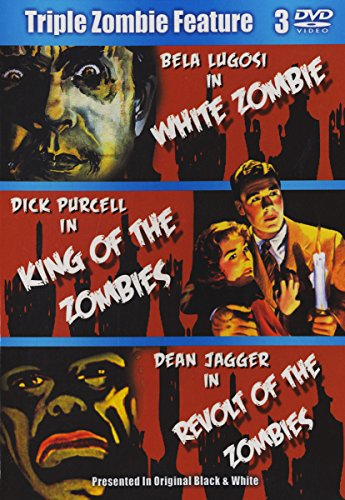 Triple Zombie Feature (White Zombie / King Of Zombies / Revolt Of Zombies)