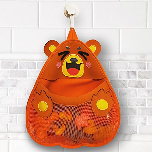 Cheap  Bear Bath Toy Organizer. Cute & safe bath toy holder for baby,..