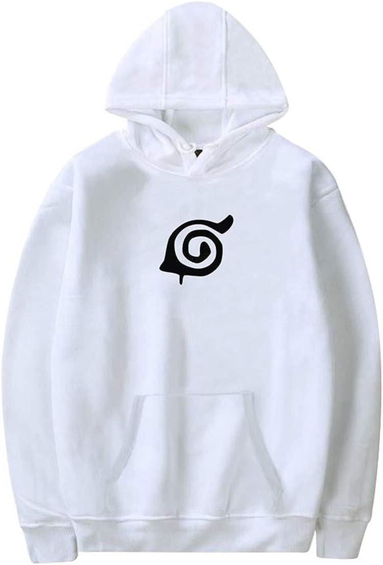 FLYCHEN Women Naruto Hoodie Cosplay Costume Uchiha Sasuke Pullover Sweatshirt