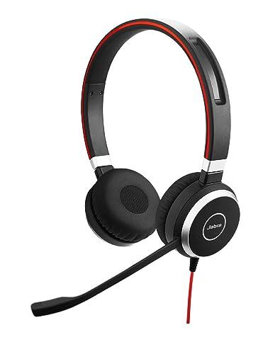 8. Jabra Evolve 40 MS Ove- Ear Stereo Headphones