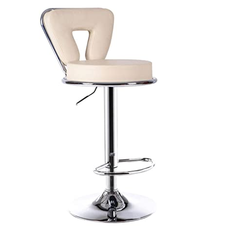 Amazon.com: WLJBD High Bar Chair, Bar Stool Back Rotation ...